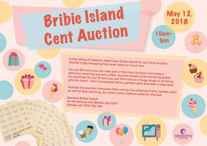 Bribie Island Cent Auction