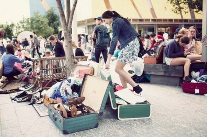 Free entry: Suitcase Rummage in Brisbane City