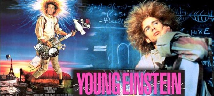 Free Movie in the Park - Young Einstein