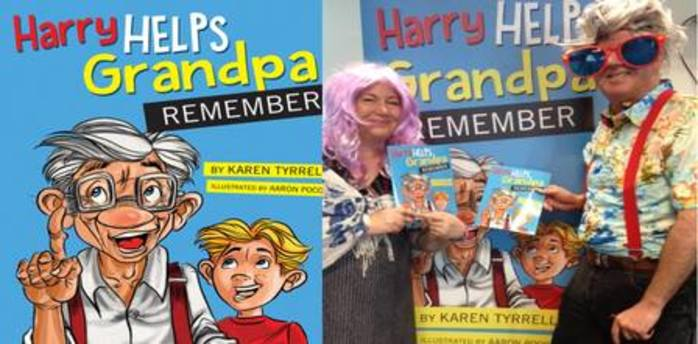 Harry Helps Grandpa Remember Pantomime Storytelling