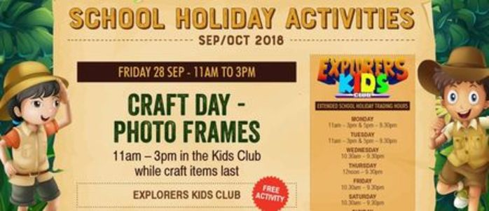 Kids Club Craft Day