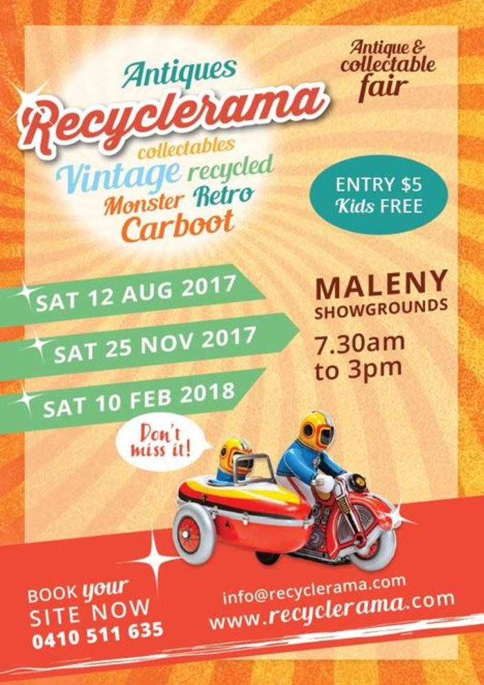 Recyclerama Pre-Christmas Antique and Collectable Fair Plus Monster Carboot Sale