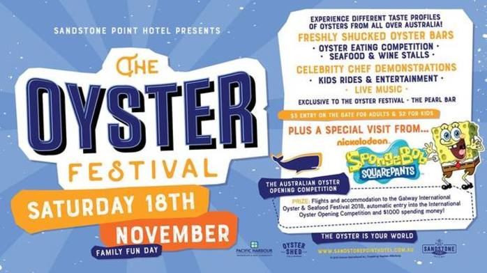 The Oyster Festival - Sandstone Point Hotel