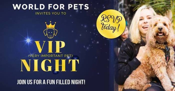 VIP Very Important Pet Night