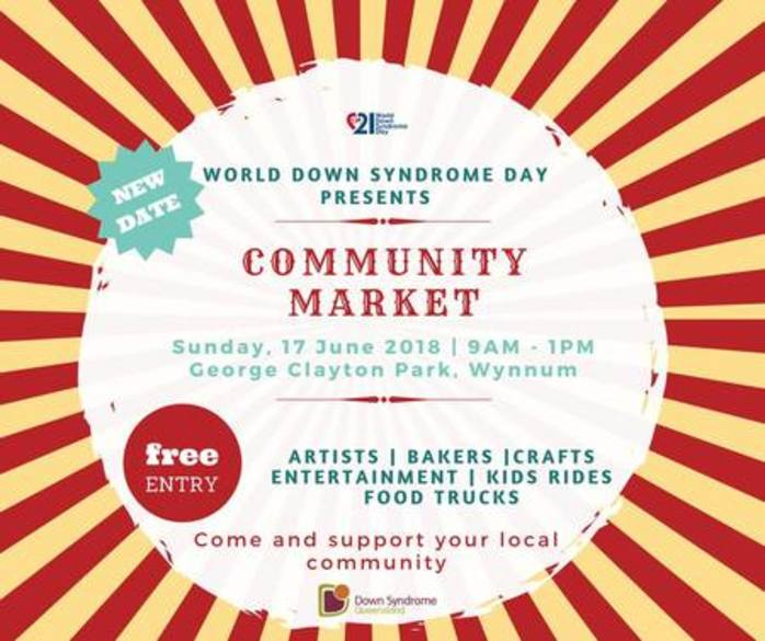 World Down Syndrome Day Community Market and Family Day
